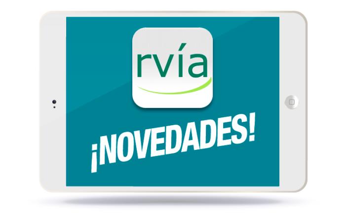 RVIA NOVEDADES